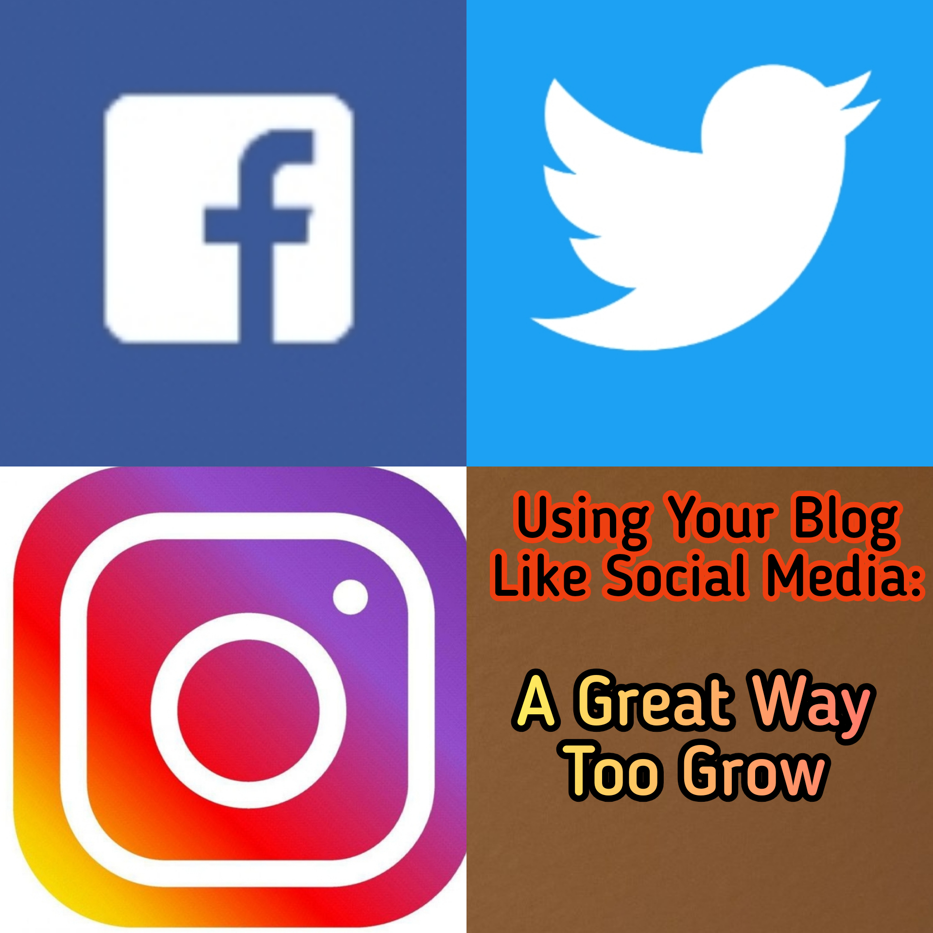 Using Your Blog Like Social Media: A Great Way Too Grow