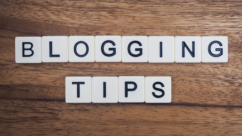 Tips for writing a blog
